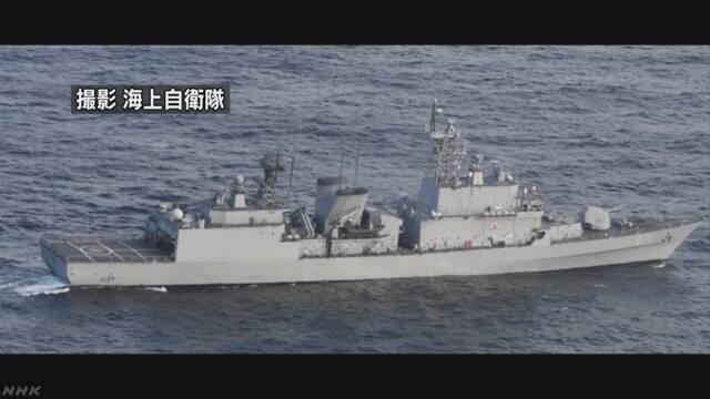 防衛省 「日本が無理な要求」との韓国発表に抗議 | NHKニュース