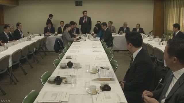 自民 韓国へ対抗措置を求める意見相次ぐ   NHKニュース