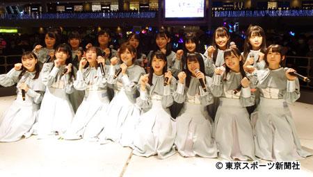 「風を待つ」発売記念イベントを行ったSTU48