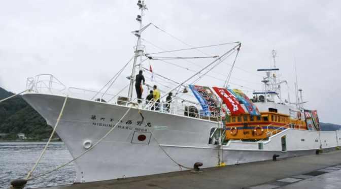 ロシアが島根のカニ漁船連行 日本海で違法操業と指摘 | 共同通信