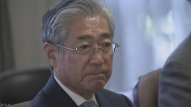 JOC竹田会長 6月の任期満了での退任を表明
