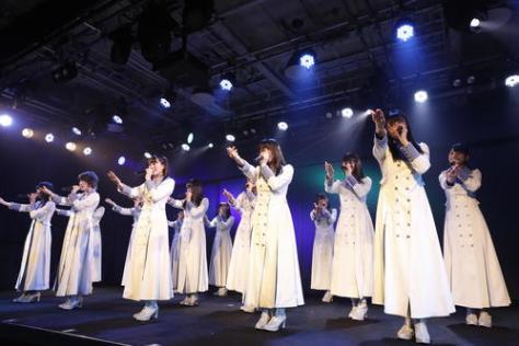 船上劇場で初日公演を迎えたSTU48(C)STU