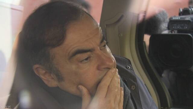ルノー「ゴーン前会長の支払いに不審点」 検察に通報と発表 | NHKニュース