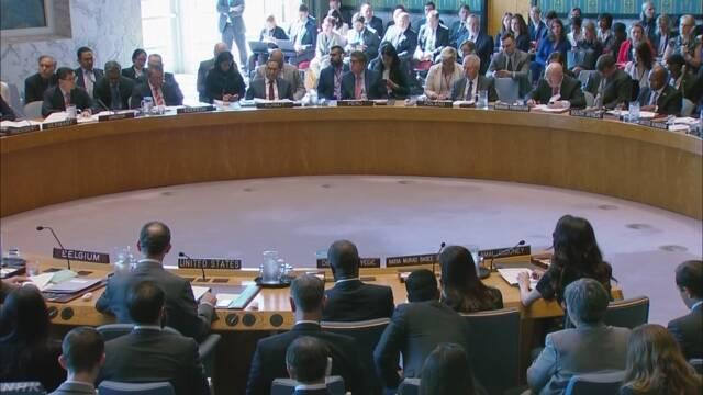 「紛争下の性暴力は加害者の処罰を」国連安保理が決議採択