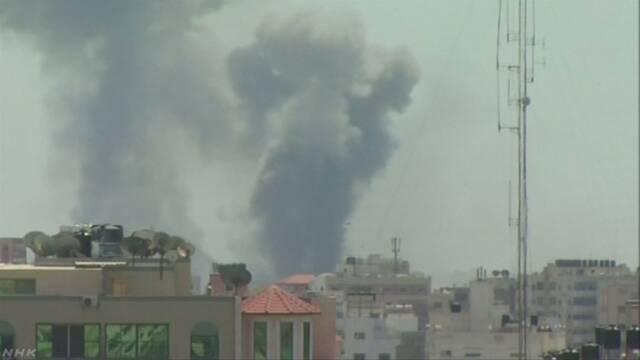 イスラエル軍とイスラム原理主義組織が衝突 1歳児巻き添えに