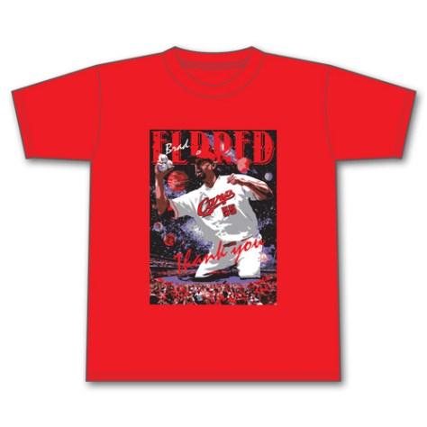 「B・エルドレッド引退記念Tシャツ」 3,000円