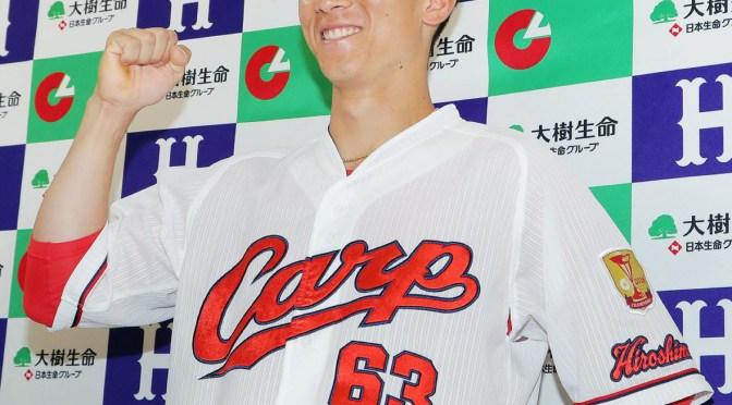 8月度月間MVP賞を受賞した西川
