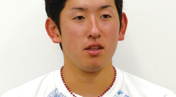 今シーズン、プロ2年目にして一軍デビューを果たした遠藤投手