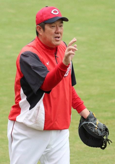 広島・佐々岡投手コーチ