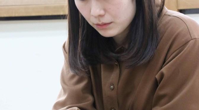 初の女流名人挑戦を決めた谷口由紀女流二段