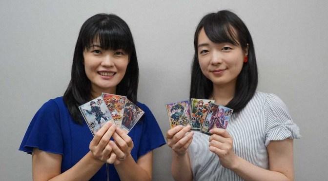 村田女流二段&室田女流二段「ずっとハラハラドキドキ」 将棋カードゲーム「譚棋戦」をPR