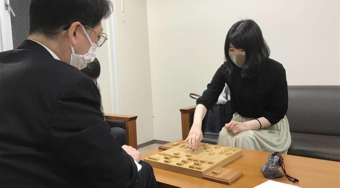 西山朋佳女流三段が決勝進出|第92期ヒューリック杯棋聖戦二次予選