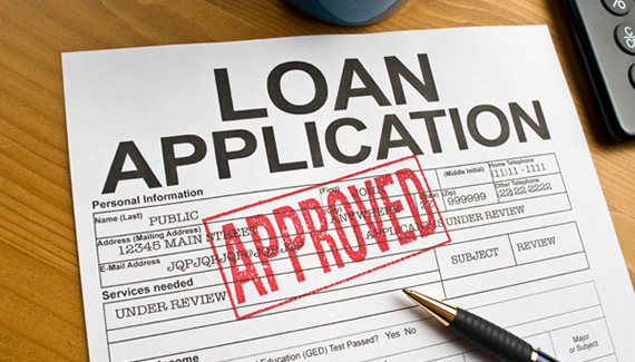 loan application approved