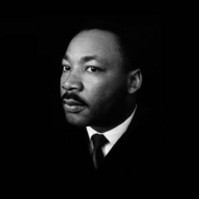 © 1965 Bob Adelman/Magnum Photos, Dr. Martin Luther King Jr. in a quiet moment during the march to Montgomery, Alabama