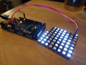 PixelMaestro on an Arduino Mega