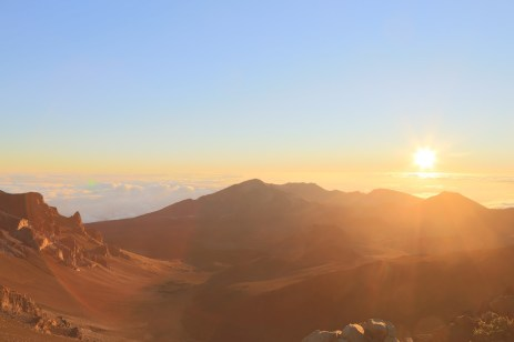 Haleakala : 20 minutes later