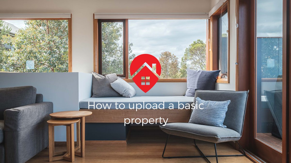 How to upload a basic property