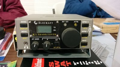 Donated Elecraft K1 door prize