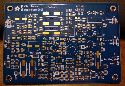 Etherkit CRX1 board
