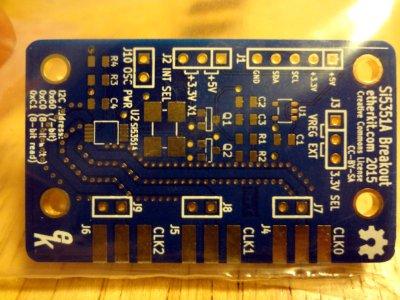 Etherkit SI5351 breakout board