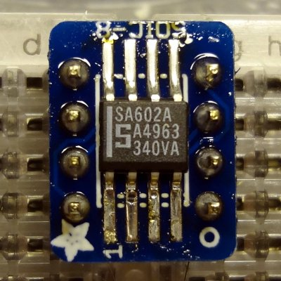 Adding header pins