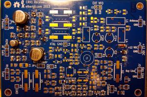 CRX1 sidetone oscillator section