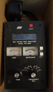 MFJ259B antenna analyzer
