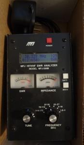 MFJ259B antenna analyzer