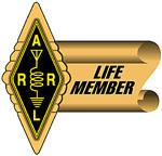 ARRL Life member badge