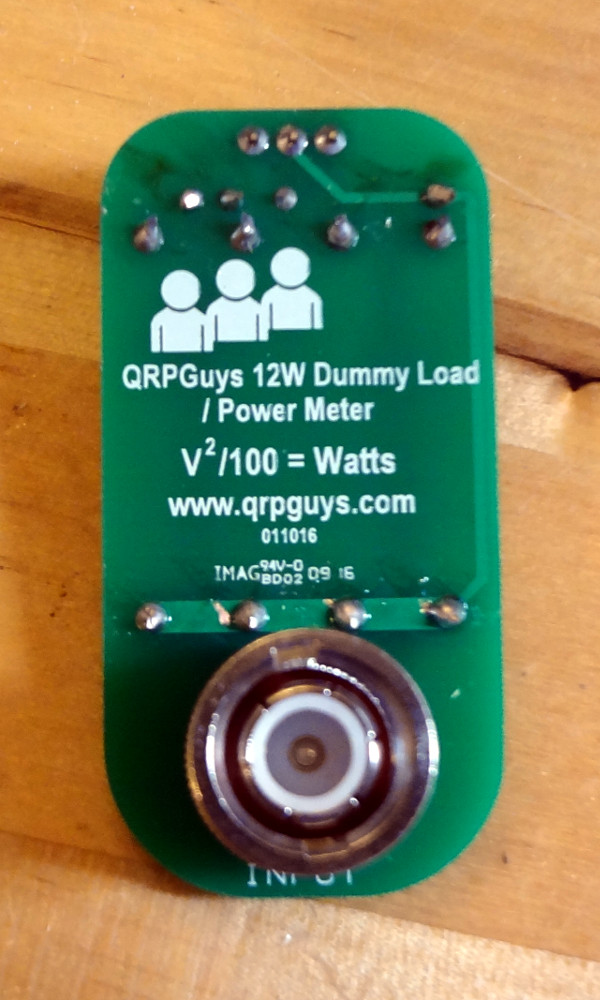 QRPGuys dummy load