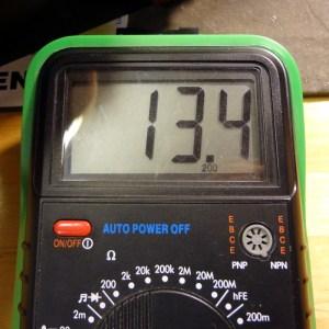 13.4V DC output
