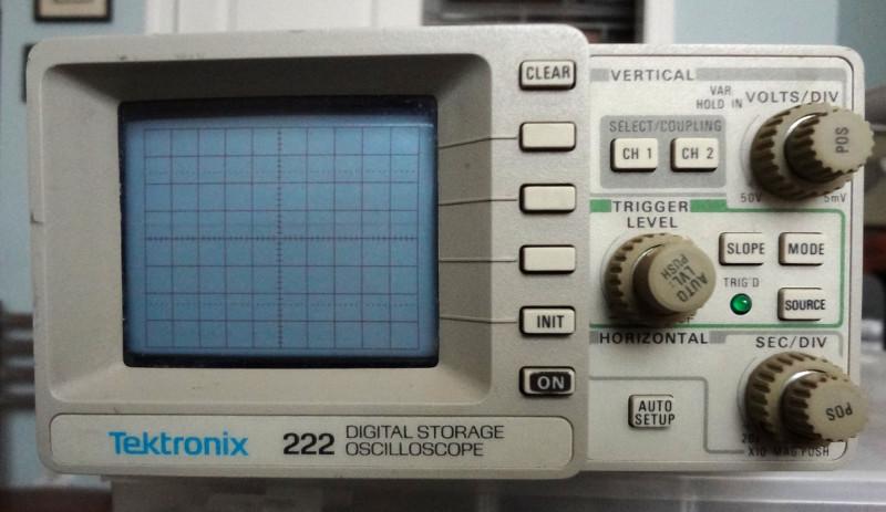 Tektronix 222 oscilloscope