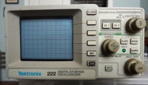 Tektronix 222 oscilloscope