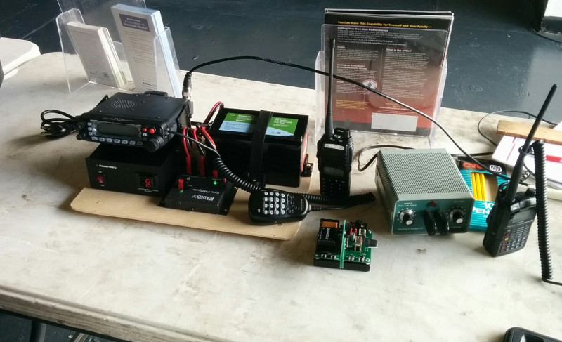 Portable VHF Go Kit