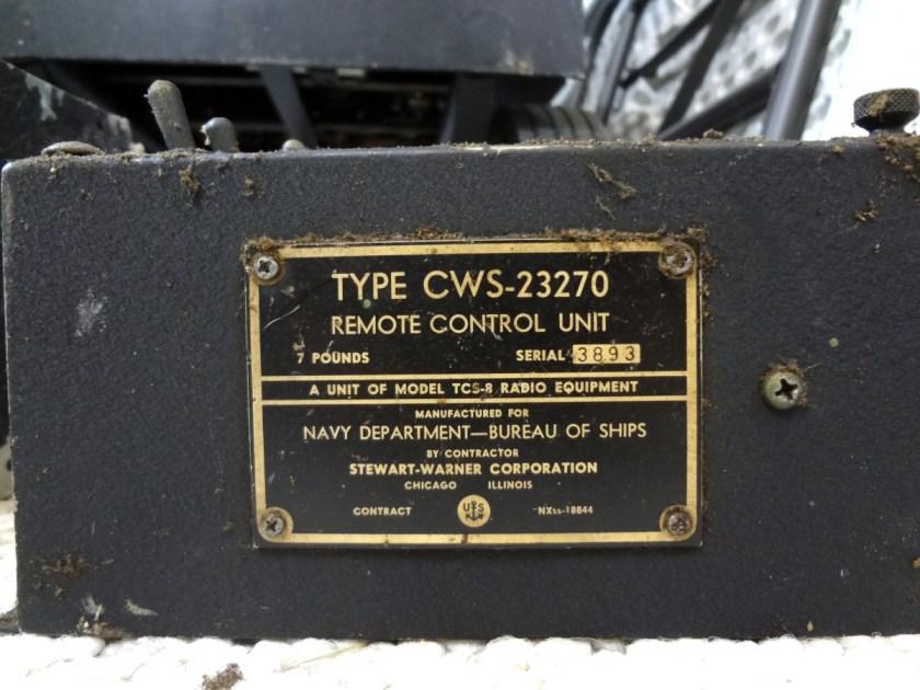 CWS-23270 remote control unit