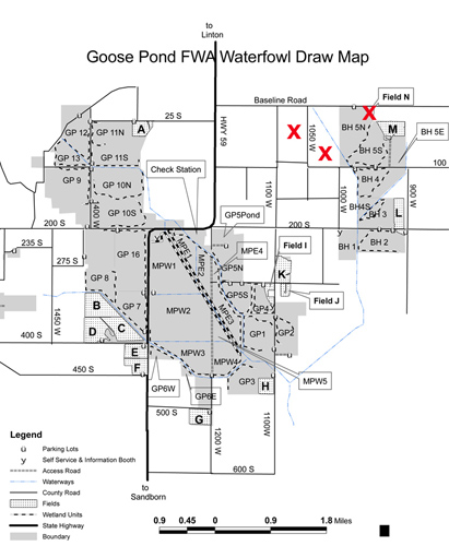 Hooded Crane map