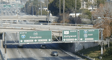 88 Freeway sign