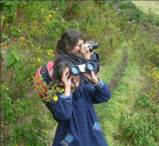 2 BEX kids trail