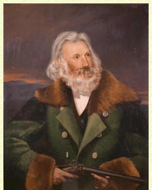 Audubon on his return from the Missouri