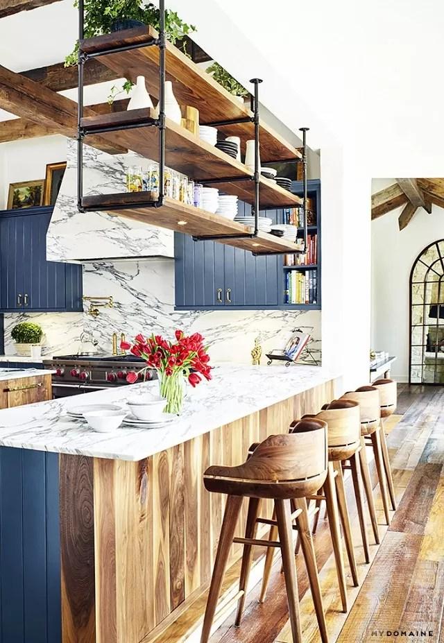 wnętrze w stylu boho, mieszkanie w stylu vintage, jak urządzić mieszkanie, wnętrze w stylu rustykalnym, kuchnia rustykalna