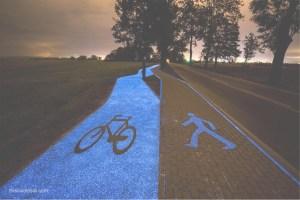 El carril bici del futuro