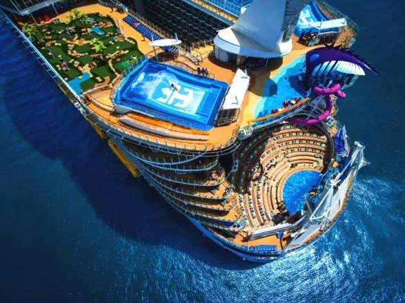 Lancement du Symphony of the Seas