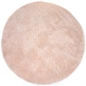 tapis fourrure rose pour tipi enfant abitare kids