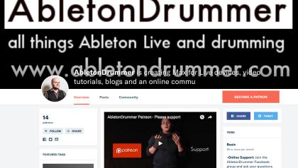 Ableton Live community for drummer