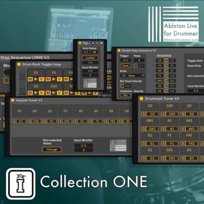 Ableton Drummer Collection One Max for Live devices