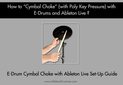Mute electronic cymbals with Roland e drum