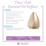 Titan™ Gold Essential Oil Diffuser Info Graphic