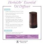 HerbalAir™ Essential Oil Diffuser Info Graphic