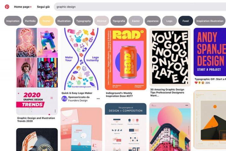 Pinterest: sito d'ispirazione contro la sindrome