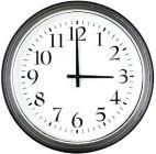 Clock 3 PM